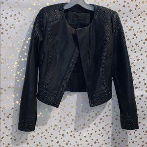 Bcbg maxazaria leather jacket
